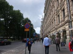 ヘルシンキのメインアベニュー エスプラナーディ通り