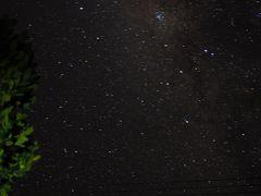 夜はまたまた、なかた荘の屋上で星空観賞です。