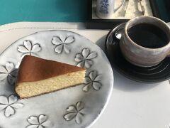 ケーキセット400円。ケーキは奥様手作りでかなり美味しい!