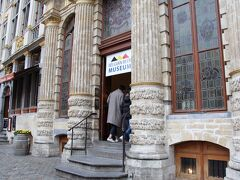 みて、触った後はビール博物館へ。 5ユーロで見学できる施設です。