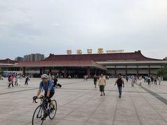 拱北到着。 中国には自転車が似合います。