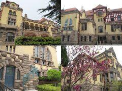 <青島> 青島ドイツ総督楼旧址博物館 1903-07築 Werner Lazarowicz の設計。ドイツの租借地総督の官邸、日本軍司令部官邸、迎賓館などをへて博物館。20元、内部は撮影不可。外観の4面のデザインが違う。