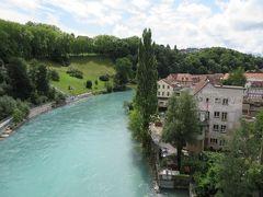 ここもまたなんとも表現しがたい美しいアーレ川の色!