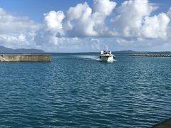 ●2019/8/02(金)  8:35分の高速船で黒島から石垣島へ戻るため、少し早めに朝ご飯を用意して貰い、食べたらすぐに出発です。 黒島から離れるのが寂しい…(>_<)