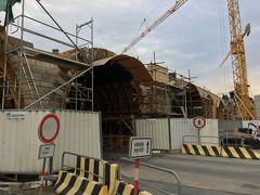 工事中、興味深い工事工程