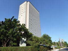 今回は日系ホテルのニューオータニ。写真は最終日の天気のいい日に撮影。