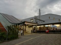用事のあとそのまま知人の家に寄り、JR桂川駅へやってきました。