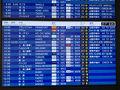 セントレアの朝は結構な便があります。でも、アジアが中心。  セントレアからヨーロッパに行こうとすると 今回のルフトハンザ航空でフランクフルト経由か フィンエアーでヘルシンキ経由になります。 あとは成田、羽田経由です。  今回はANAマイルの特典航空券なのでルフトハンザ航空でいきます。