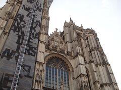 ノートルダム大聖堂に到着です! フランダースの犬でネロが最後にたどり着いた場所。