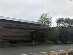 平山温泉へ一目散。 今宵のお宿、善屋さんに到着。 雨天で写真がイマイチ