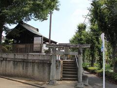 八雲神社は、志木街道沿いにあります。境内は狭いながら、立派な御神木が目につきます。この御神木で八雲神社の歴史の古さを窺うことができます。