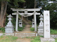 滝の城本丸があったところは城山神社となっています。
