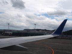 そして、着陸前もかなり風に煽られて揺れて揺れて着陸しました。 はじめての空港に着陸するのはドキドキしますね。