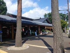 松川村の道の駅。 毎回ここへは立ち寄ります。