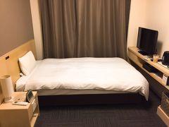 部屋はまぁ、可もなく不可もなく。 チェーンホテルなので、どこのドーミーインに泊まってもこれは同じだしね。 ビジネスホテルの中では比較的広い方だとは思います。