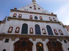 続いて、来たのは、聖ミヒャエル教会