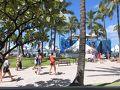 ハワイ1日目です。今回は6泊8日の旅行です。