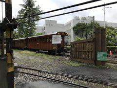 目的地は嘉義駅近くの鉄道施設。 指定した施設からはずれた踏切でタクシーを降ろされる。