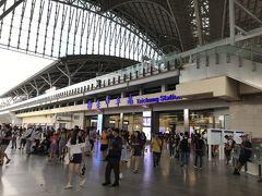 台中駅が見事に新しくなっている。