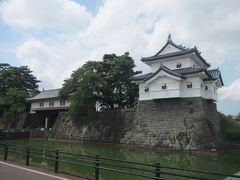 せっかく新発田まで来たので 日本百名城の新発田城も見学していく。 入城は無料。百名城スタンプやパンフ類は入口の表門に 置いてあって、ボランティアのガイドさんが色々説明してくれる。 公開されてるのは表門・辰巳櫓・二ノ丸隅櫓などで…