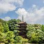 瑠璃光寺は日本3大五重の塔の一つに数えられるらしいです