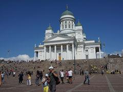 この日はヘルシンキ大聖堂までトラムで移動して、その後徒歩でスオメンリンナ島へのフェリー乗り場に行くつもりだったので衛兵がいなくなるまで見物してから徒歩5分位のフェリー乗り場に移動しました。