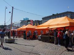 この辺りは前回ヘルシンキに来た時にも軽く見たので何となくの土地勘がありました。 なので特に迷わずあっさりマーケット広場に到着です。