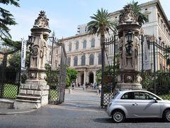 国立絵画館(バルベリーニ宮殿)の前を通りました