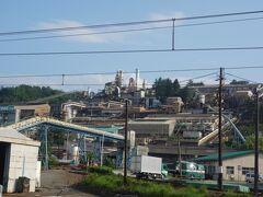 安中駅前には大きな工場 東邦亜鉛安中精錬所だそうです。 要塞のようでなかなかの見ごたえ。