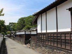 萩 城下町「江戸屋横町」 黒板塀が続く風情ある道は、萩の景色として~よく紹介されていますね・・