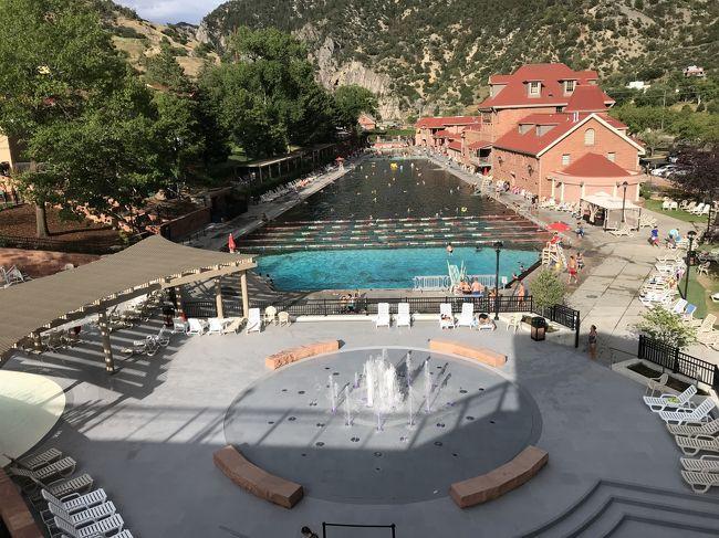 2019年 コロラド州⑥グレンウッドスプリングスの巨大温泉リゾート ...