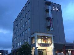 今回の出張でお世話になったホテル。 某下着メーカーさんの関係者が多数泊まられていた。