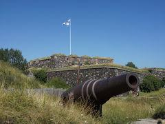 島の南端はいかにも要塞らしい景色が広がっていました。