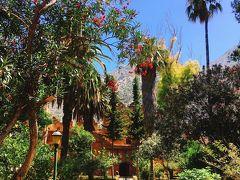 カスバ博物館 中庭が素敵。