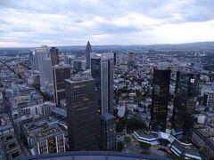 地上200メートル! フランクフルトで4番目に高いビルとのこと!