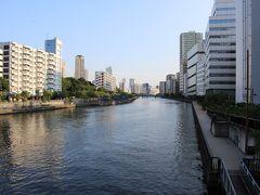 高浜運河運河沿いの両岸が遊歩道になっています。