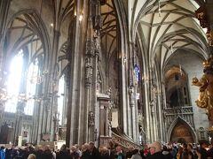 シュテファン大聖堂を観光