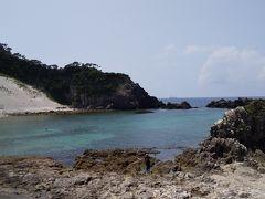 まずは大浦海水浴場 キャンプ場もありました。学生時代ここでダイビングしました~