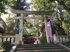 次に向かったのは、大崎にある居木神社。 戸越八幡神社から徒歩で約20分です。