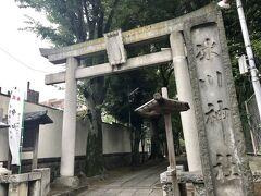 西五反田鎮座の桐ケ谷氷川神社。 今日一番の距離、25分は歩きました。  最後にこの距離は辛かった(笑)
