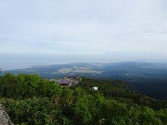 鉾立展望台から日本海が見えました。