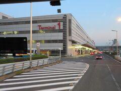 羽田空港国内線第1ターミナルへは15分かからずに着きました。