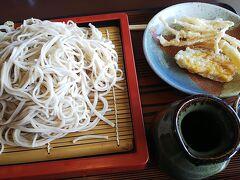 11:02に上田駅に着きレンタカーで出発。 今までは麓の農家レストラン里の食を利用してましたが、今回は山本小屋ふる里館のレストランで食事です。小さな天ぷらは一人3つまで無料でした。
