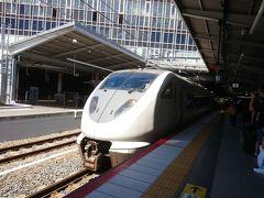 大阪から白浜へは、新大阪発の特急くろしおで一直線。