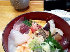 お昼ご飯、海鮮丼~♪