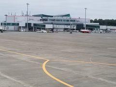 釧路空港到着。 1995年以来です。