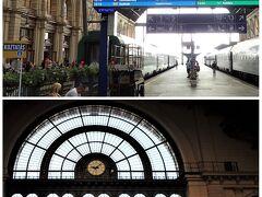 ブダペスト東駅→ウィーン中央駅へ。 中央駅っても、セントラルじゃないのね。 Hauptbahnhof(ハウプトバーンホーフ) 苦手のカタカナ。うーん。わかりづらい。  オーストリア国鉄(OBB)のHPで レールジェット(RJ)のチケットを とりました。OBBの座席シート図は 荷物置き場や窓の位置が見やすくGOOD♪ 「えきねっと」よりわかりやすいかもー。