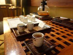 マッサージ後は、温かいお茶のサービス。  まさかのほったらかし。 ホスピタリティーはないな。。
