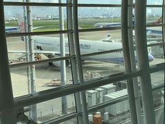 いつものChina Airlines フライト: 223  羽田空港7時20分出発です! 早っ(°_°)