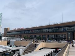 仙台空港から空港アクセス線で約25分、仙台駅に到着です。  取りあえずホテルに荷物を預けに行きます。 それにしても暑い… 朝から陽射しガンガンです。 東北の地、もっと涼しいと期待していましたが、なにがなにが予想に反して、関西並の湿度と気温です…